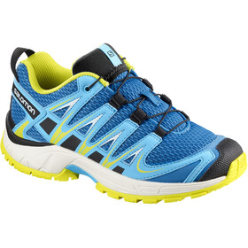 Salomon XA Pro 3D Shoes Junior Indigo Bunting/White/Sulphur Spring